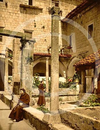 Cortile della farmacia de Franciscani, Ragusa, Sicily
