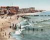 Long Branch Beach, New Jersey 1901.