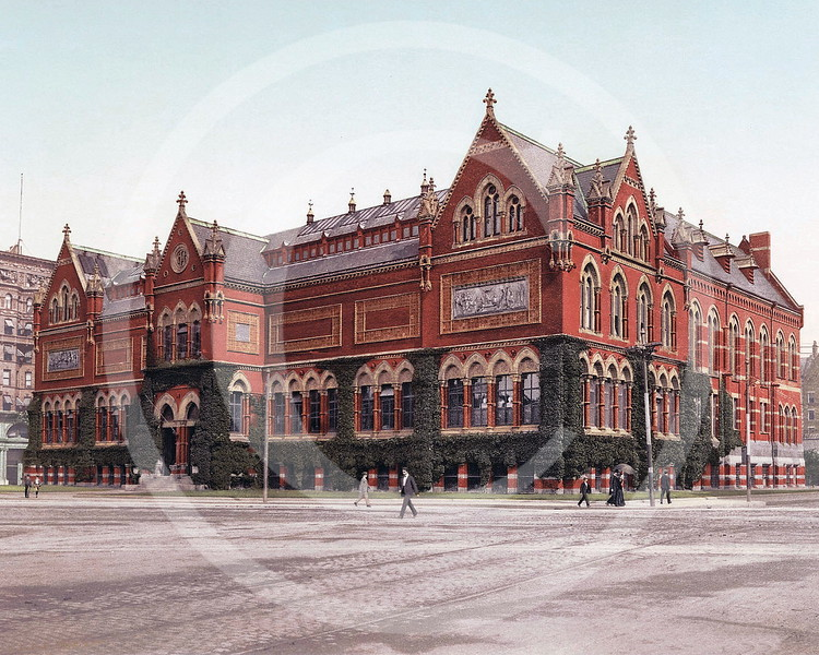 The Art Museum, Boston 1902.
