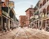 St Charles Avenue, New Orleans, Louisiana 1900.