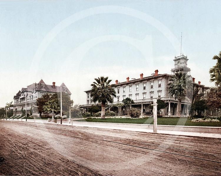 Arlington Hotel, Santa Barbara, California 1901.