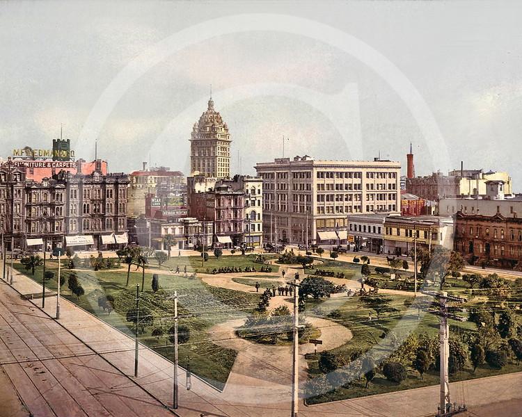 Union Square, San Francisco, California 1897.