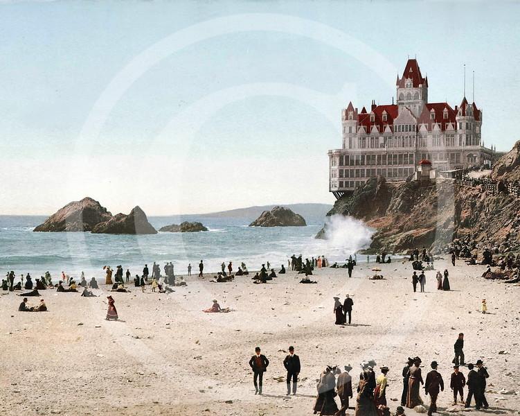 Cliff house, San Francisco, California 1902.