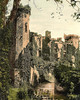 Raglan Castle, Raglan,  Monmouthshire.
