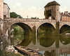 Monnow Bridge, Monmouth, Monmouthshire.