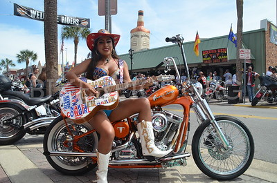 SATURDAY FUN AT BIKEWEEK, DAYTONA, 2019