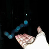 This is a still image of Archangel Raphael working on my right hand; as captured on video the evening of March 14, 2018. This image has been underexposed to show the brilliance of Raphael's Light in the dark.