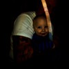 This is a photograph of my great nephew and my brother, taken by my niece in 2013.  She was taking a series of photographs of her baby and her dad and all the photographs were in focus except for this one. There is one Light descending into my great nephew and two Lights descending into my  brother's back, which are not visible when I lowered the exposure on this image.  All three Lights appeared white in the original photograph and we thought that was pretty awesome. But, all these years later,  we now see the colors of The Light and it just adds another beautiful layer to our family journey.