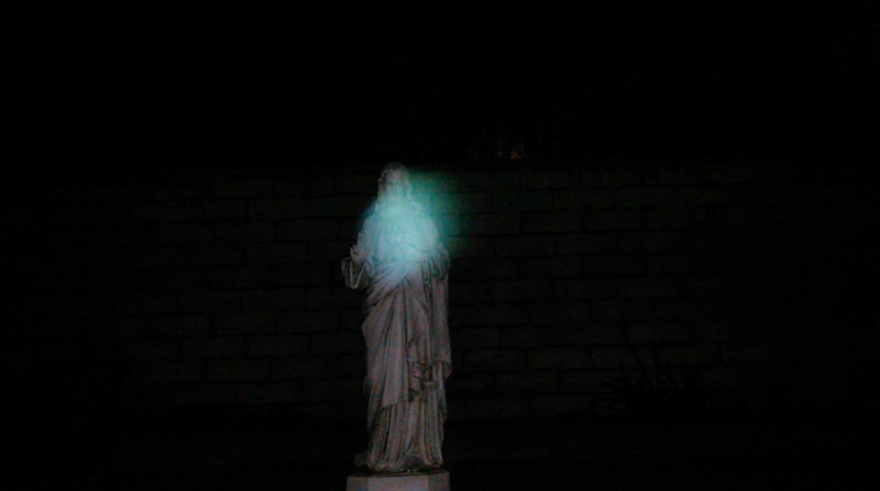 This is the seventh still image, of eleven images presented, of Archangel Raphael; as captured on video the evening of the supermoon January 1, 2018.