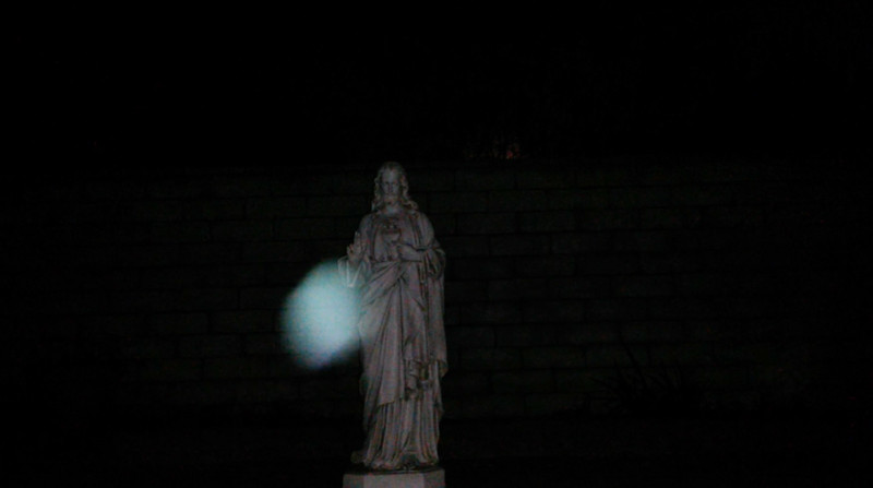 This is the fifth still image, of eleven images presented, of Archangel Raphael; as captured on video the evening of the supermoon January 1, 2018.