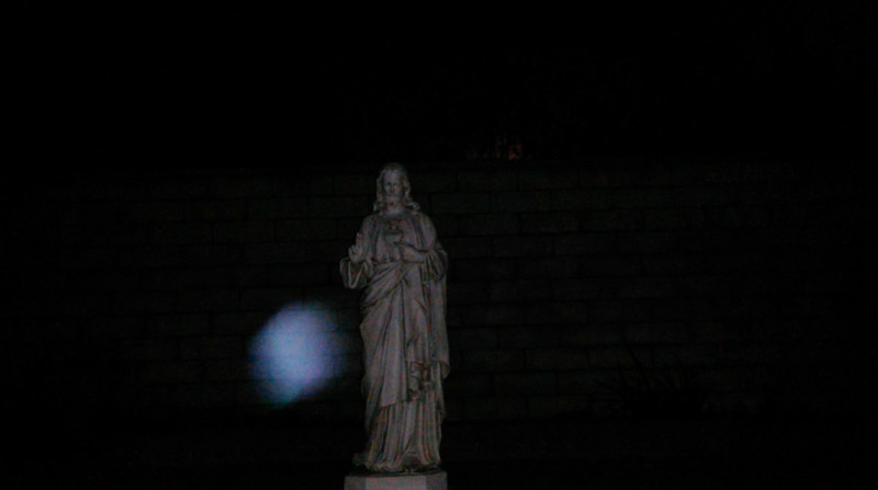 This is the fourth still image, of eleven images presented, of Archangel Raphael; as captured on video the evening of the supermoon January 1, 2018.