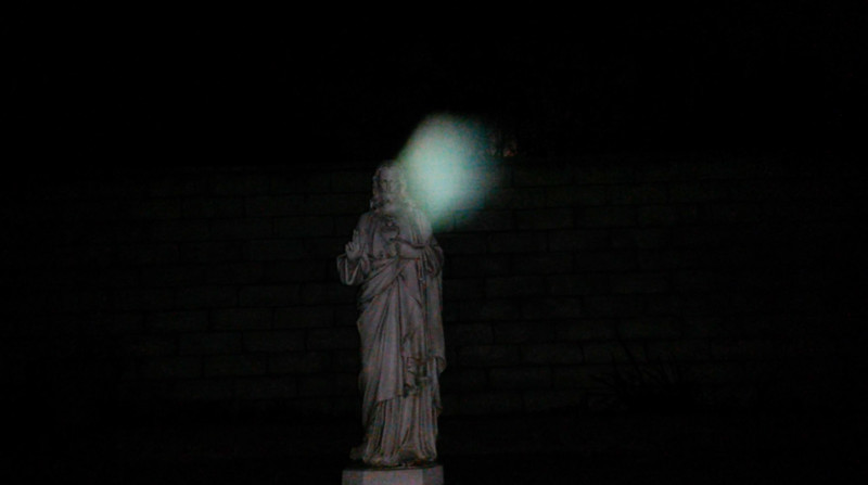 This is the eighth still image, of eleven images presented, of Archangel Raphael; as captured on video the evening of the supermoon January 1, 2018.