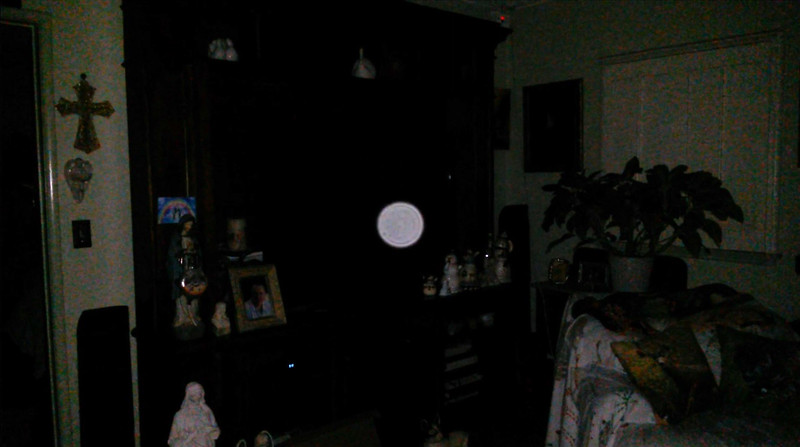 This is the third and final still image presented of Archangel Ariel; as captured on video the evening of the supermoon January 1, 2018.