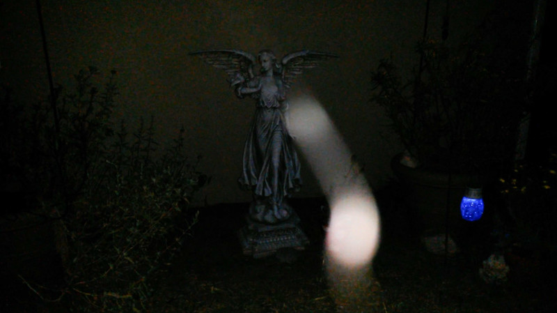 This is a still image, of Archangel Haniel, as captured on video the evening of April 28, 2017.