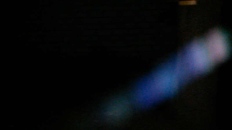 This is the second still image, of fifteen images presented, of The Light of Archangel Gabriel captured on video the evening of August 22, 2015. On this evening, Gabriel's Light body spiraled around my yard in the most stunning neon blue and pink colors!