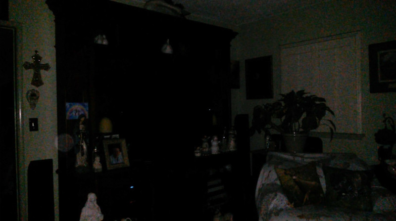 This is the second and final still image of The Light of my Fiance, Ken; as captured on video the evening of September 15, 2018.