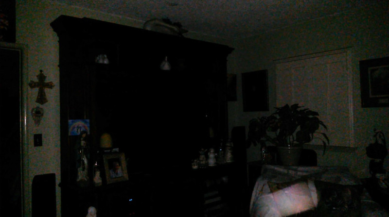 This is one still image, of two image presented, of The Light of Mary Magdalene; as captured on video the evening of September 15, 2018.