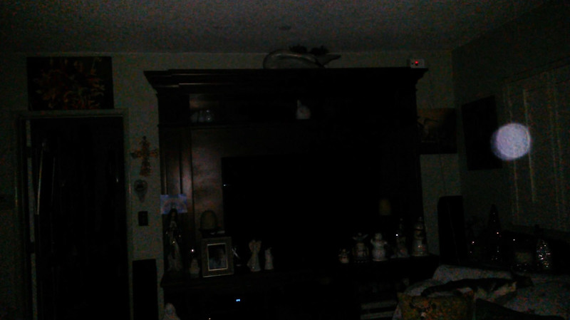 This is the fourth still image, of ten images presented, of The Light of Jesus; as captured on video the evening of November 16, 2018.