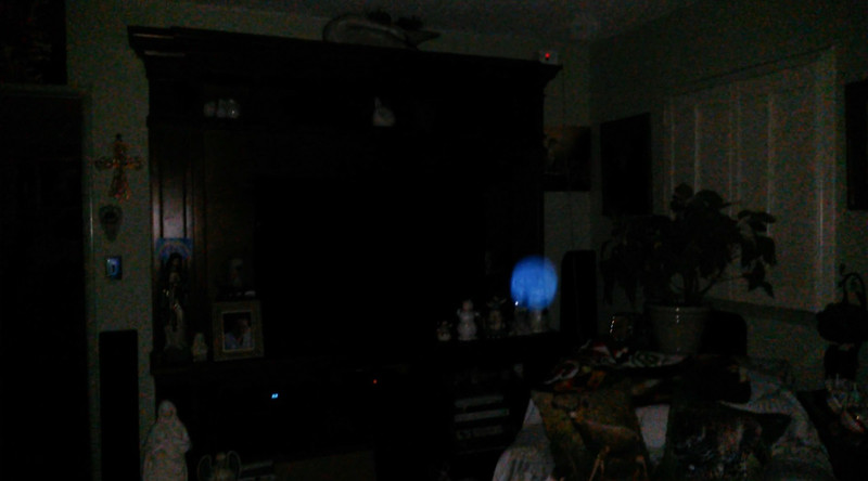 This is the third still image, of four images presented, of The Light of Jesus; as captured on video the evening of March 25, 2017