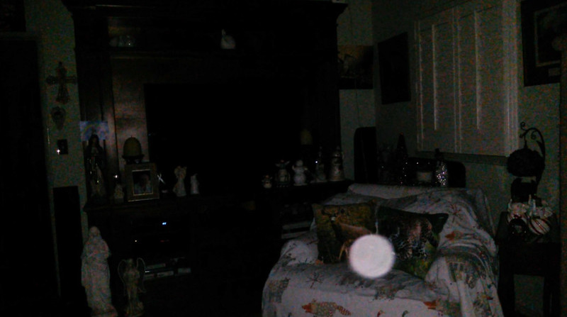 This is the seventh still image, of ten images presented, of The Light of Mother Mary; as captured on video the evening of November 11, 2018.