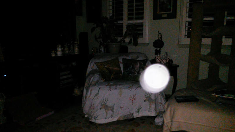 This is the fifth still image, of seven images presented, of The Light of Jesus; as captured on video the evening of August 12, 2018.