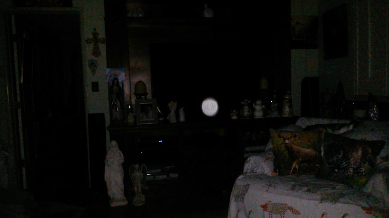 This is the second still image, of fifteen images presented, of The Light of Jesus; as captured on video the evening of November 16, 2018.