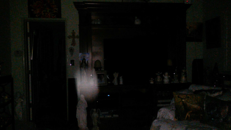 This is the seventh still image, of ten images presented, of The Light of Mother Mary; as captured on video the evening of November 16, 2018.