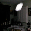 This is the eighth still image, of nine images presented, of The Light of my friend's father, Del; as captured on video the evening of November 2, 2018.