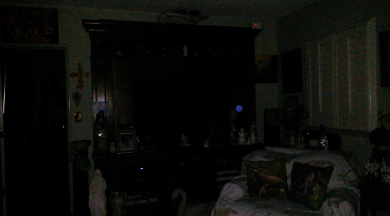 This is the sixth still image, of seven images presented of The Light of Jesus; as captured on video the evening of December 26, 2018.