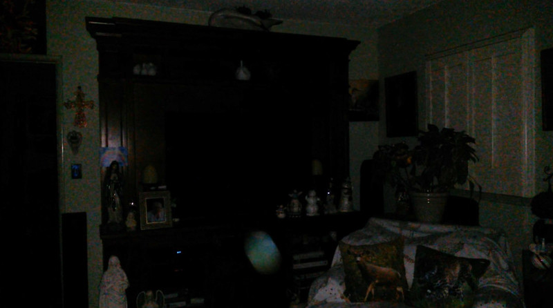 This is the third still image, of four images presented, of The Light of Jesus; as captured on video the evening of September 19, 2018.