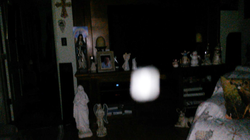 This is the thirty-first still image, of thirty-eight images presented, of The Light of Jesus; as captured on video Election Night, November 6, 2018.