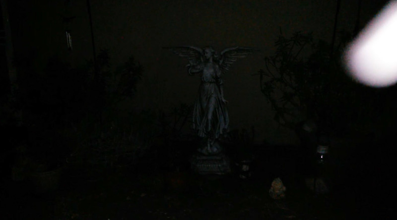 This is the third and final still image of The Light of Jesus; as captured on video the evening of November 6, 2017.