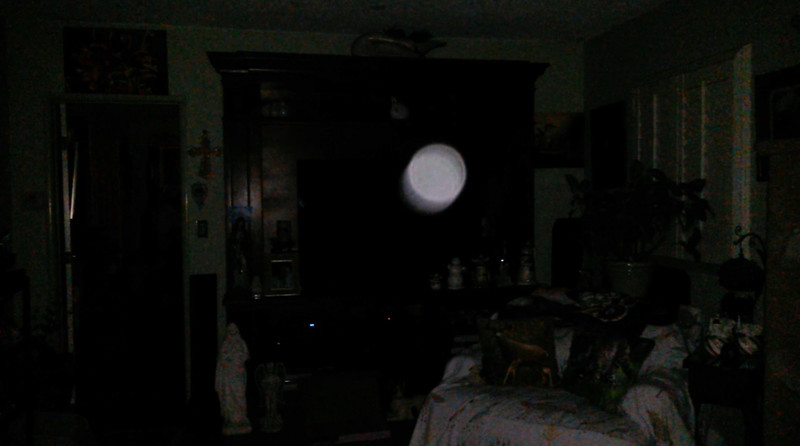 This is the eighth still image, of ten images presented, of The Light of Jesus; as captured on video the evening of April 16, 2018.