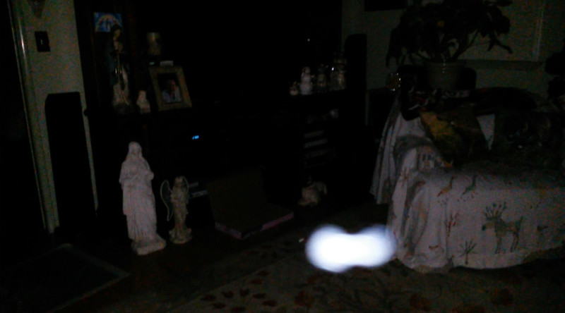 This is the sixth still image, of twelve images presented, of The Light of Jesus; as captured on video the evening of March 26, 2018.