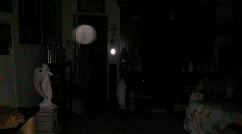 This is the seventh and final still image of The Light of Jesus; as captured on video the evening of February 16, 2018.