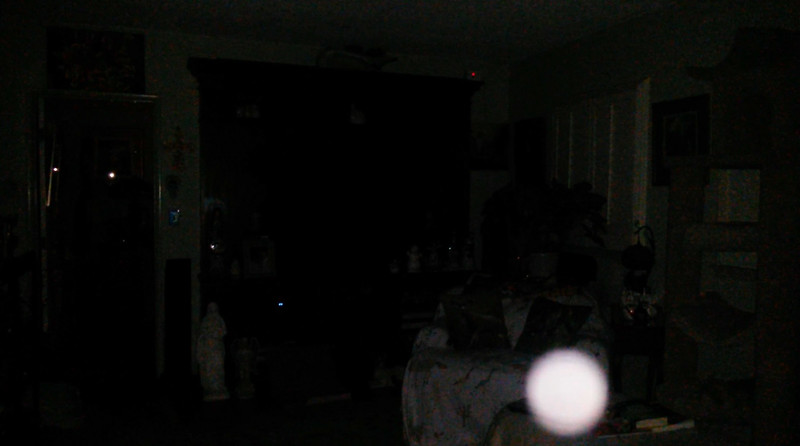 This is the fourth still image, of nine images presented, of The Light of Jesus; as captured on video the evening of February 13, 2018.