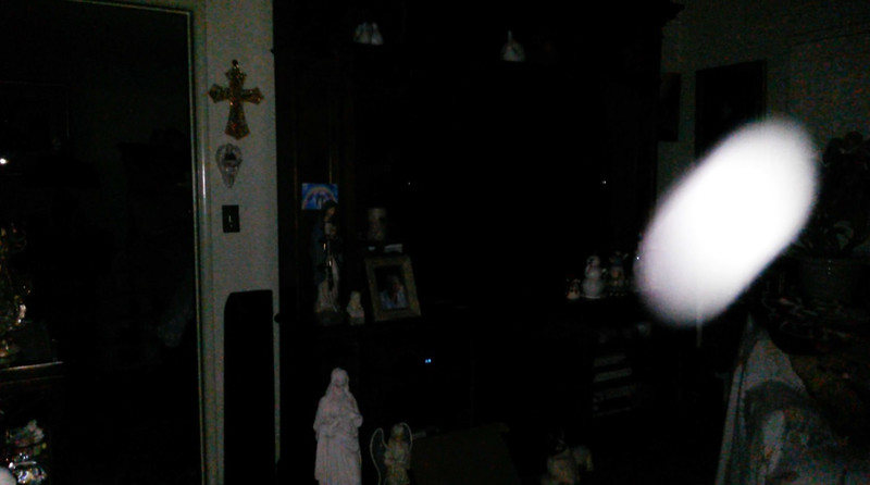 This is the second still image, of four images presented, of The Light of Jesus; as captured on video Easter evening, April 1, 2018.