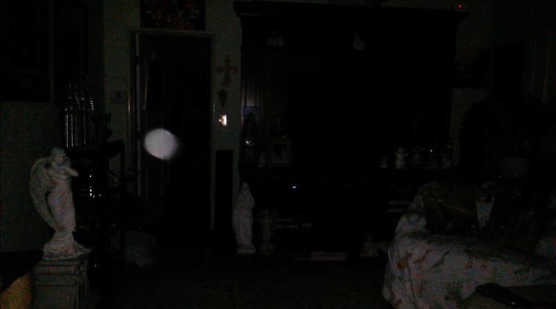 This is the fourth still image, of seven images presented, of The Light of Jesus; as captured on video the evening of February 16, 2018.