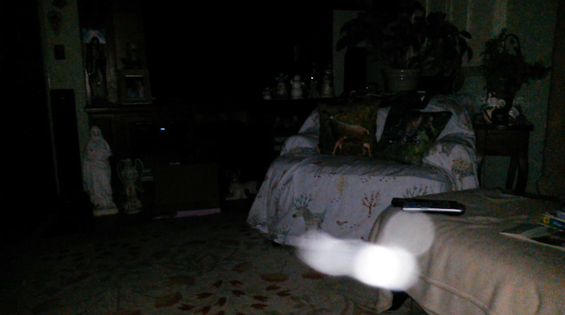 This is the seventh still image, of twelve images presented, of The Light of Mother Mary; as captured on video the evening of May 16, 2018.