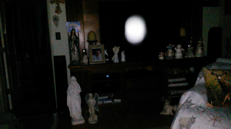 This is the thirty-second still image, of thirty-eight images presented, of The Light of Jesus; as captured on video Election Night, November 6, 2018.