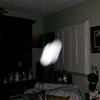 This is the seventh still image, of nine images presented, of The Light of my friend's father, Del; as captured on video the evening of November 2, 2018.