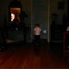 "This is one still image, of three images presented, of The Light of Jesus with my great nephew; as captured on video Christmas Day 2014.  Also in this image is my niece sitting on the floor of my mother's living room and watching one of my favorite holiday movies: ""The Bishop's Wife."""