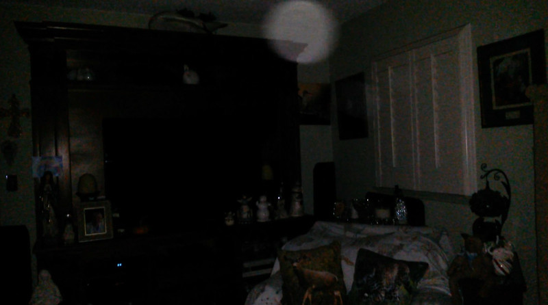 This is the fourth and final still image of The Light of Mary Magdalene; as captured on video the evening of October 3, 2018.