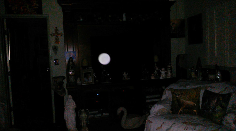 This is the third still image, of eight images presented, of The Light of Jesus; as captured on video the evening of December 17, 2018.