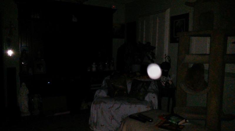 This is the second still image, of eight images presented, of The Light of Jesus; as captured on video the evening of February 8, 2018.
