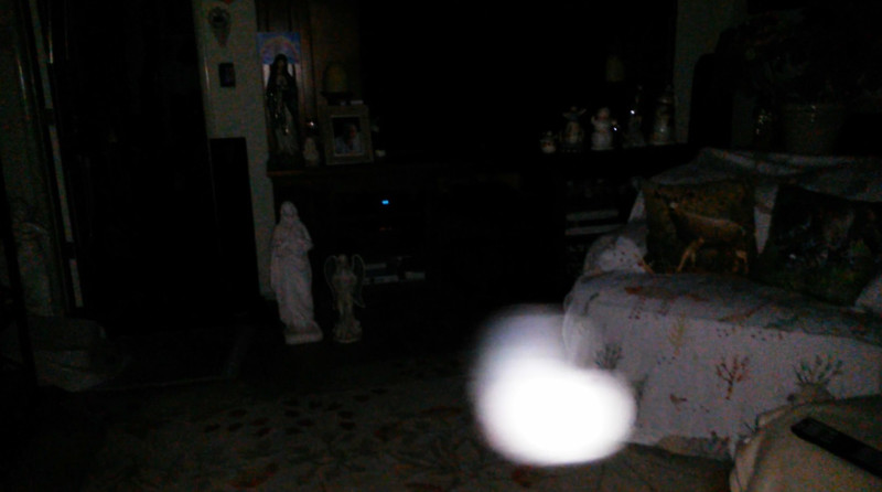 This is the seventh still image, of ten images presented, of The Light of Jesus; as captured on video the morning of September 16, 2018.