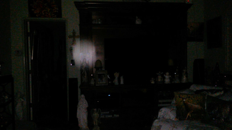 This is the ninth still image, of ten images presented, of The Light of Mother Mary; as captured on video the evening of November 16, 2018.