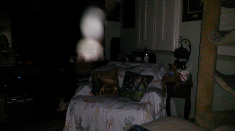 This is the tenth still image, of fourteen images presented, of The Light of Jesus; as captured on video the evening of October 3, 2018.