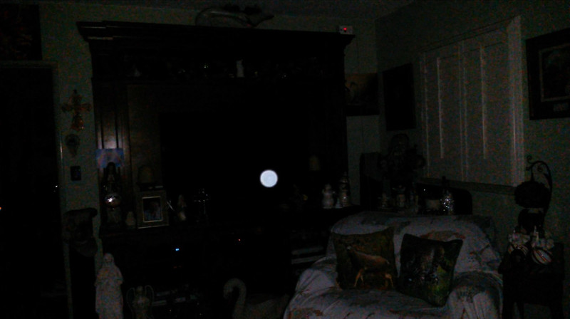 This is a still image of The Light of Jesus; as captured on video the evening of Christmas, December 25, 2018.