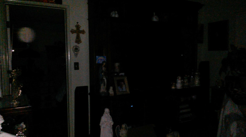 This is the third still image, of four images presented, of Archangel Uriel; as captured on video Easter evening, April 1, 2018.